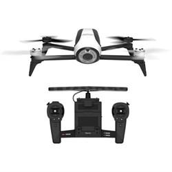 BeBop 2 Quadcopter Drone w/HD Video Skycontroller Bundle (White) - OPEN BOX