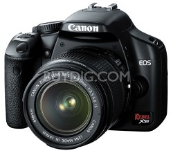 EOS Digital Rebel XSi /450D Black w/ EF-S 18-55mm IS Kit