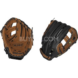 A360 Baseball Glove - Right Hand Throw - Size 12.5""