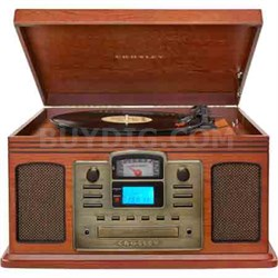 Director CD Recorder with Cassette & Record Player CR2405C-PA (Paprika)