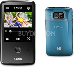 """Playtouch Teal 1080p HD Video Camera Camcorder w/ 3.0"""" Touchscreen"""