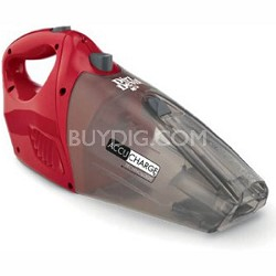 BD10040RED - Accucharge Cordless 15.6-Volt Hand Vac