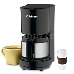 4-Cup Coffeemaker with Stainless-Steel Carafe - Factory Refurbished +