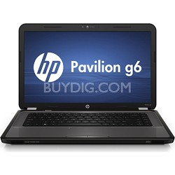 "Pavilion 15.6"" G6-1A30US Notebook PC  AMD Athlon II Dual-Core Proc. P360"