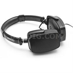 DuoPlay Black Stereo Headphone & Portable Speaker - OPEN BOX