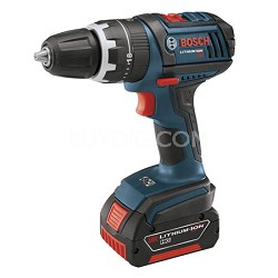 HDS181-01 18V Compact Lithium Ion Hammer Drill w/ 2 Fat Pack Batteries