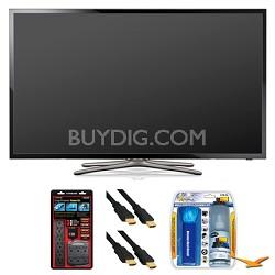"""UN46F5500 46"""" 60hz 1080p WiFi LED Smart HDTV Surge Protector Bundle"""