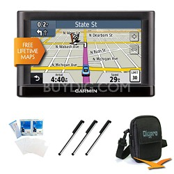 "nuvi 52LM 5.0"" GPS Navigation System with Lifetime Map Updates Essentials Bundle"