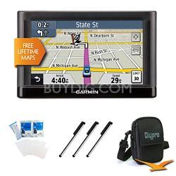 "nuvi 52LM 5.0"" GPS Navigation System with Lifetime Map Updates Essentials Bundle"