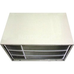 26 In. Wall Sleeve and Stamped Aluminum Air Conditioner Rear Grille