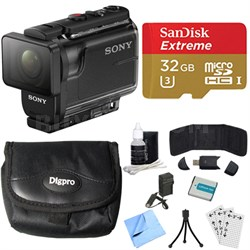 HDR-AS50/B Full HD Action Cam Deluxe Bundle