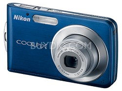 Coolpix S210 Digital Camera (Cool Blue) with  Free 2GB Memory Card