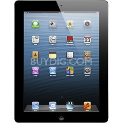 iPad 4 with Wi-Fi 32GB - Black (Model: MD511LL/A)