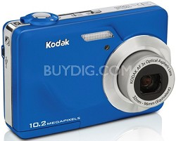 "EasyShare C180 10.2 MP 3x Zoom 2.4"" LCD Digital Camera (Blue)"