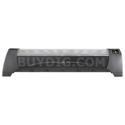 Digital Low-Profile Heater in Black - 5624
