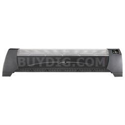 Digital Low-Profile Heater in Black - 5624