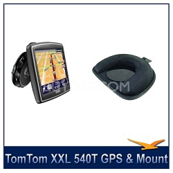 XXL 540T 5 inch Auto Nav Portable GPS Navigator + Dashboard Mount