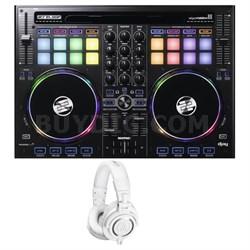 Cross Platform DJ Controller for iPad, Android & Mac w/ Studio Headphone