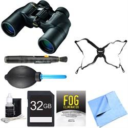 ACULON 10x50 Binoculars (A211) Adventure Bundle