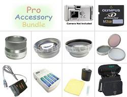 Platinum Accessory Bundle for Olympus SP500, SP510