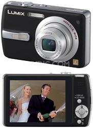DMC-FX50 (Black) Lumix 7.2 megapixel Digital Camera - REFURBISHED