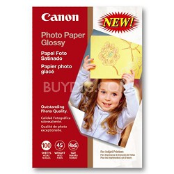 "Photo Paper Glossy 4"" x 6"" 100 Sheets"