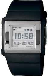 BG2000-1 - Baby-G Black Slim Square Watch