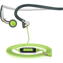PMX 686G Sports Behind-The-Neck Ear-bud Earphones with Mic (Green)