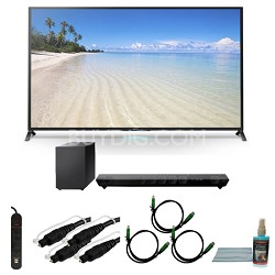 KDL70W850B - 70-Inch 1080p 120Hz Smart 3D LED HDTV Motionflow XR 480 Wifi Bundle