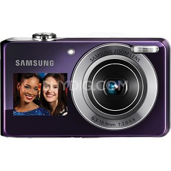 "TL205 DualView 12MP 2.7"" LCD Violet Digital Camera"