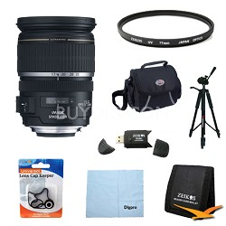 EF-S 17-55mm F/2.8 IS USM Wide Angle Zoom Lens Exclusive Pro Kit