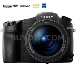 "DSC-RX10M III Cyber-shot 4K Video 20.1MP 1"" Sensor Super Zoom Digital Camera"