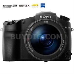 "DSC-RX10M III Cyber-shot 4K Video 20.1MP 1"" Sensor Super Zoom Digital Camera"