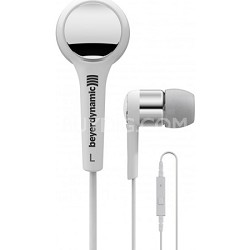 MMX 102 iE White / Silver Premium In-Ear Headset