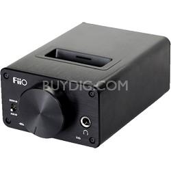 E09K High Output Desktop Headphone Amplifier and Dock for E17
