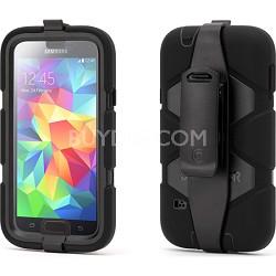 Survivor Case for Samsung Galaxy S5 - Black