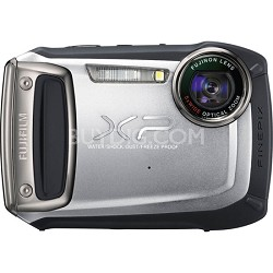 Finepix XP100 14MP Water/Shock/Freeze/Dust-Proof DigiCam (Silver) - OPEN BOX