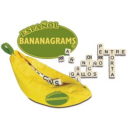 Spanish Bananagrams Word Game - SPBAN002