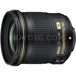 AF-S NIKKOR 24mm f/1.8G ED Wide Angle Lens for Nikon DSLR Cameras