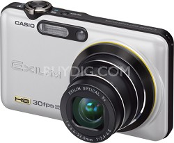 "Exilim FC100 9MP 2.7"" LCD Digital Camera (Pearl White) - OPEN BOX"