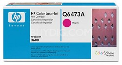 Magenta Print Cartridge for LaserJet 3600 Printers