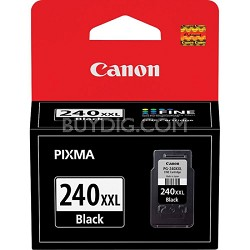 PG-240XXL Black Ink Cartridge for PIXMA MG2120, MG3120, MG4120, MX372 Printers