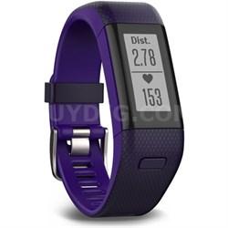 Vivosmart HR+ Activity Tracker Regular Fit, Imperial Purple (010-01955-37)