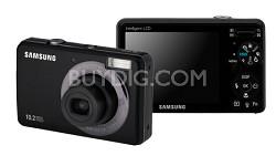 """SL202 10MP/ 3X OPT/ 2.7"""" LCD Digital Camera (Black)"""