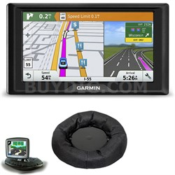 Drive 60LMT GPS Navigator (US Only) Friction Mount Bundle