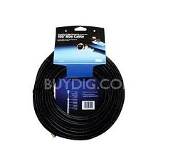 TRG-100 RG6 Indoor/Outdoor, Satellite/Cable/Antenna Coaxial Cable - 100'