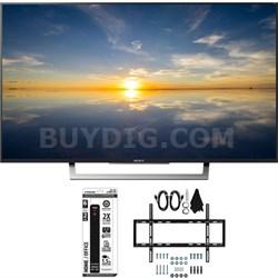 "XBR-43X800D - 43"" Class 4K HDR Ultra HD TV w/ Slim Wall Mount Bundle"