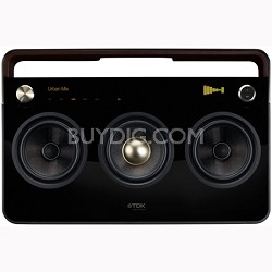 Life on Record 3-Speaker Boombox Audio System (TP6803BLK)