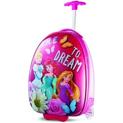"18"" Upright Kids Disney Themed Hardside Suitcase - Princess"