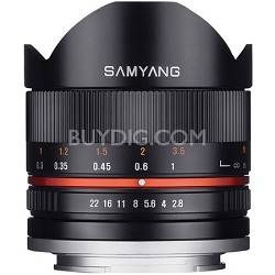 Series II 8mm F2.8 Fisheye Lens for Sony E Mount